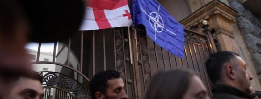 Manifestațiile din Georgia